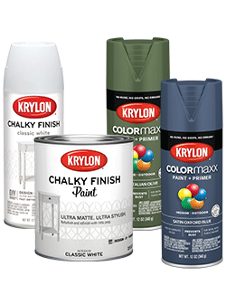 Chalky Finish and COLORmaxx product images