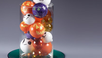 halloween glass balls