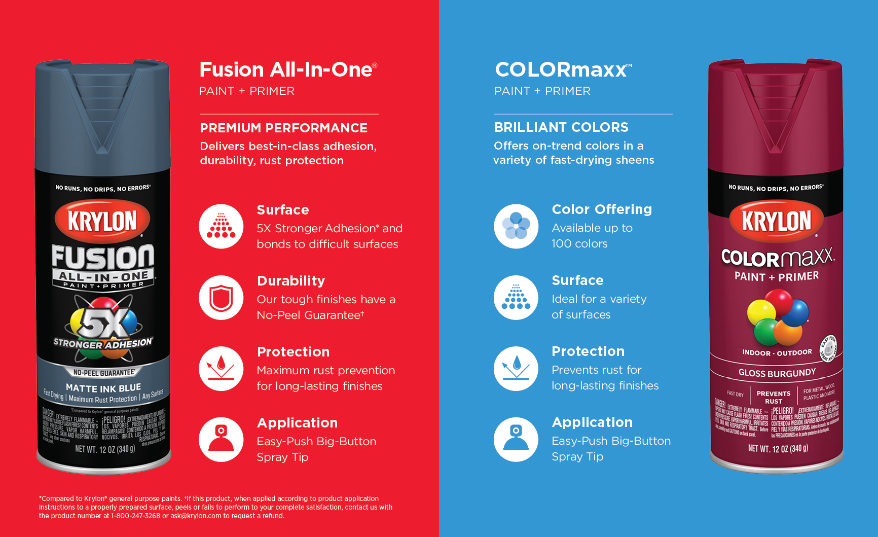 Krylon® Fusion All-In-One™ and COLORmaxx | Krylon